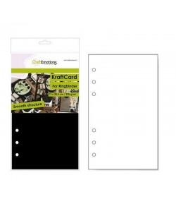 PAGES PLANNER - A5 12 X 20.5 CM - NOIR X 12