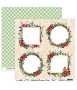 PAPIER CHRISTMAS WISHES 30.5 X 30.5 CM  - 05