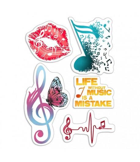TAMPONS TRANSPARENTS MUSIC LIFE PSB6013