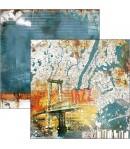 BLOC 24 FEUILLES BLUE NOTE CIAO BELLA 15X15CM CBQ043