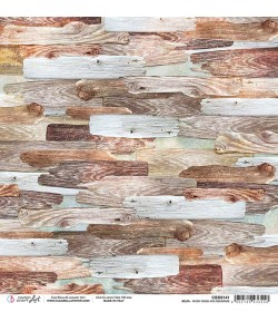 PAPIER DELTA WOOD AND SEAGRASS CIAO BELLA 30.5X30.5CM CBSS141