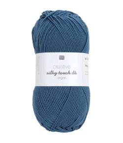 LAINE SILKY TOUCH PETROLE (022)