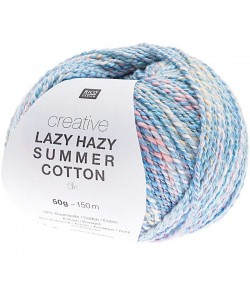 LAZY HAZY SUMMER COTTON BLEU N°008