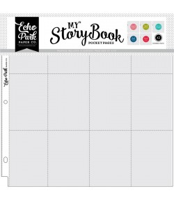 """10 POCHETTES 12"""" X 12"""" POUR POCKET CARDS COMBO PACK - MY STORY BOOK"""