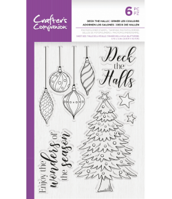 TAMPONS DECK THE HALLS - CRAFTER'S COMPANION