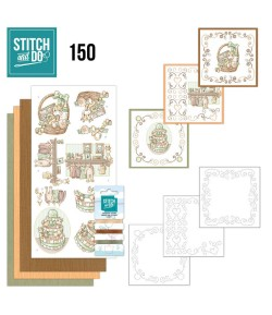 KIT 3D A BRODER NAISSANCE - STDO150