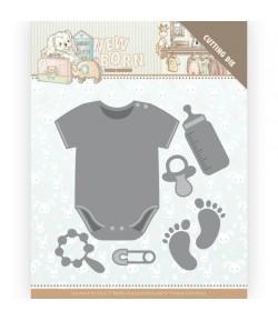 DIES NEWBORN - BABY BODYVEST -  YCD10233