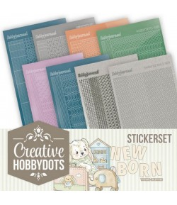 LOT 8 STICKERS DOT AND DO NAISSANCE CHSTS011