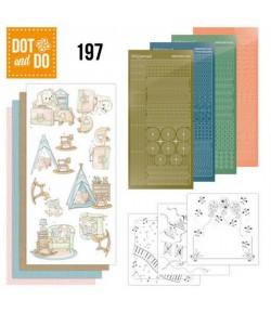 KIT 3D DOT NAISSANCE  NEWBORN - DODO197