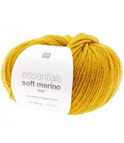 LAINE SOFT MERINO AR MOUTARDE (001)
