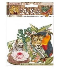 FORMES CARTON - DIE CUTS AMAZONIA - DFLDC30