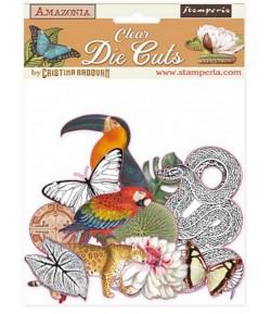 FORMES ACETATE - DIE CUTS AMAZONIA - DFLDCP03