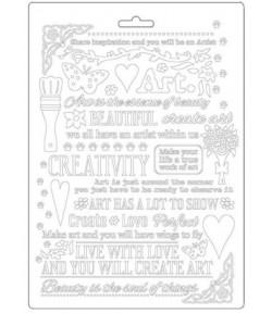 MOULE PVC FLEXIBLE ATELIER DES ARTS - ECRIRE - K3PTA578