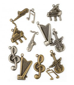 CHARMS METAL MUSIQUE