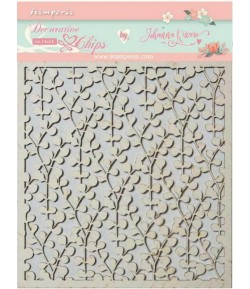 FORMES CARTON DECORATIVE CHIPS CIRCLE OF LOVE 14X14CM - SCB39