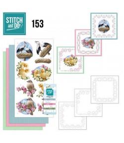 KIT 3D A BRODER ENJOY SPRING - STITCH AND DO - STD0153