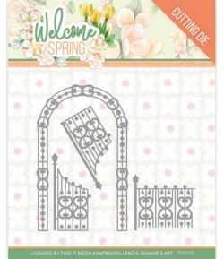 DIE WELCOME SPRING - ARCH AND FENCE  JAD10113