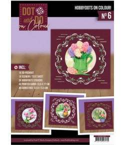 KIT COMPLET FEUILLES 3D WELCOME SPRING COLOUR 6