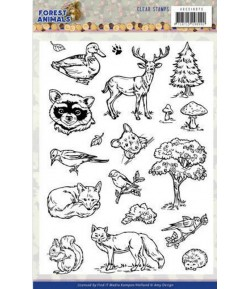 TAMPONS CLEAR FOREST ANIMALS - ADCS10073