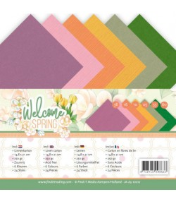 24 FEUILLES A5 250GR -  WELCOME SPRING  JA-A5-10012