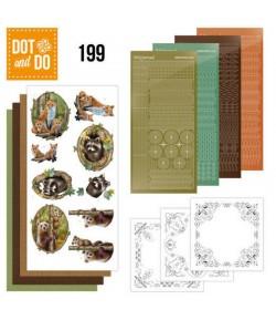 KIT 3D DOT FOREST ANIMALS DODO199