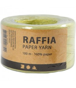 RAPHIA VERT CLAIR - 100 M