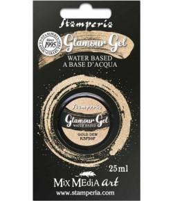GLAMOUR GEL GOLD DEW 20ML STAMPERIA K3P59F