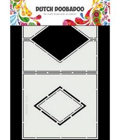 GABARIT DIAMOND CARD - DUTCH DOOBADOO (861)
