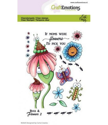 TAMPONS BUGS & FLOWERS 2  - A6