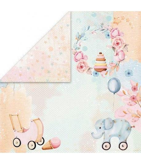 PAPIER BABY TOYS - 30.5 X 30.5 CM  - 06