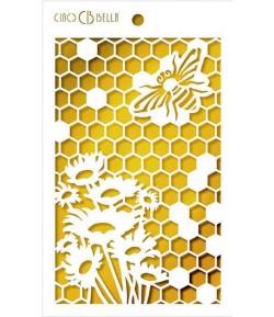 POCHOIR QUEEN BEE 14.5 X 24 CM - CIAO BELLA MS049