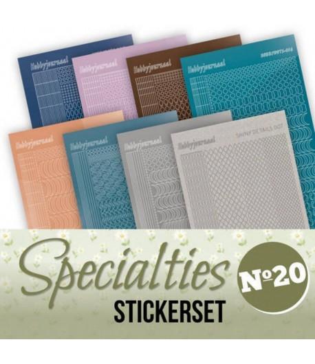 LOT 8 STICKERS SPECIALTIES - N°20