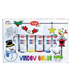 KIT WINDOW COLOR - LET IT SNOW