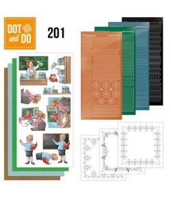 KIT 3D DOT BUBBLY GIRLS - PROFESSIONS DODO201