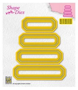 DIES SET OF TAGS 4 - SD205