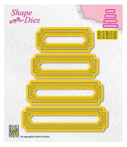 DIES SET OF TAGS 5 - SD206