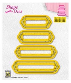 DIES SET OF TAGS 6 - SD207