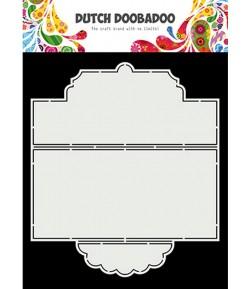 GABARIT SLIMLINE TIE CARD - DUTCH DOOBADOO (874)