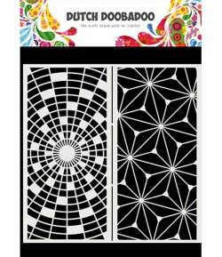 POCHOIR SLIMLINE ART 21 X 21 CM - DUTCH DOOBADOO