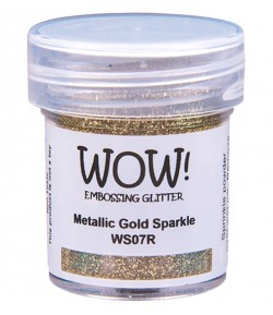 POUDRE A EMBOSSER METALLIC GOLD SPARKLE - WS07R
