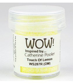 POUDRE A EMBOSSER TOUCH OF LEMON - WS287R