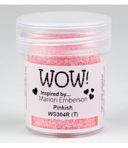 POUDRE A EMBOSSER GLITTERS - PINKISH - WS304R