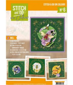 KIT COMPLET FEUILLES 3D HUMMING BEES COLOUR 6
