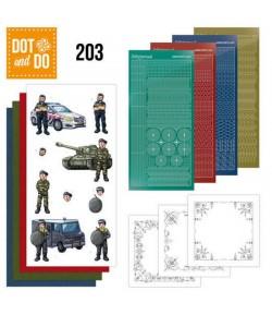 KIT 3D DOT BIG GUYS - PROFESSIONS DODO203