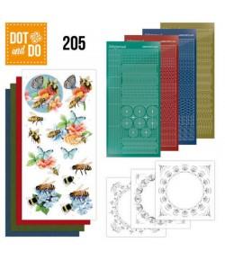KIT 3D DOT HUMMING BEES - DODO205