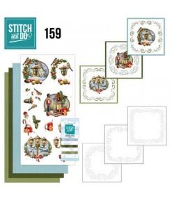 KIT 3D A BRODER HISTORY OF CHRISTMAS - STITCH AND DO - STDO159