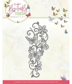 DIE BUTTERFLY TOUCH - BUTTERFLY BORDER  JAD10121