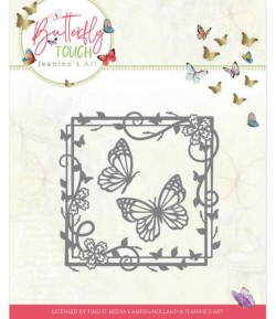 DIES BUTTERFLY TOUCH - BUTTERFLY SQUARE  JAD10122