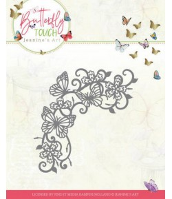 DIES BUTTERFLY TOUCH - SWIRLS AND BUTTERFLY  JAD10124