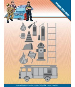 DIE PROFESSIONS - BIG GUYS FIRE DEPARTMENT YCD10239